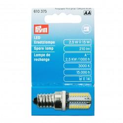 Ampoule de rechange LED pour machines à coudre, fermeture à baïonnette